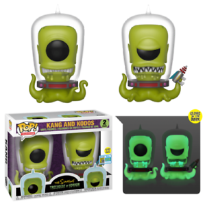 Funko-Pop-Kang-And-Kodos-The-Simpsons-Convention-Limited-Edition