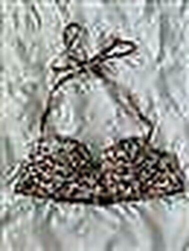Lepel Floral Retro Bikini Satz Bügel Gepolstert Mulitway Top Mit Unterhose 6