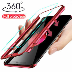 For-Huawei-Mate-20-Lite-P-Smart-360-Full-Protective-Case-Tempered-Glass-Cover
