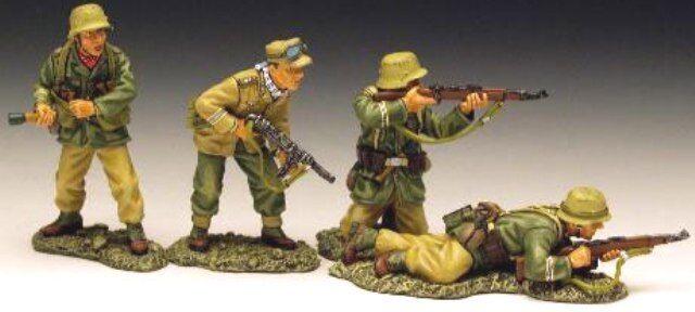 King & Land Afrika Korps AK016 Angriff Set MIB
