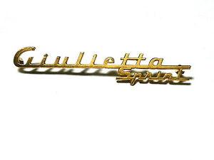 Fregio-scritta-sigla-ALFA-ROMEO-GIULIETTA-SPRINT-110mm-badge-sign-escudo-LOGO
