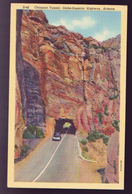 Claypool Tunnel, Globe-Superior Highway Scenic, AZ