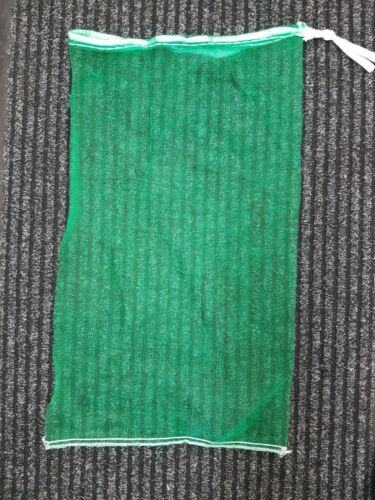 Monofilament bag Light Green Drawstring