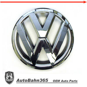 New-Genuine-VW-Emblem-Jetta-Sedan-2011-14-MK6-Volkswagen-OEM-Front-Grille-Badge