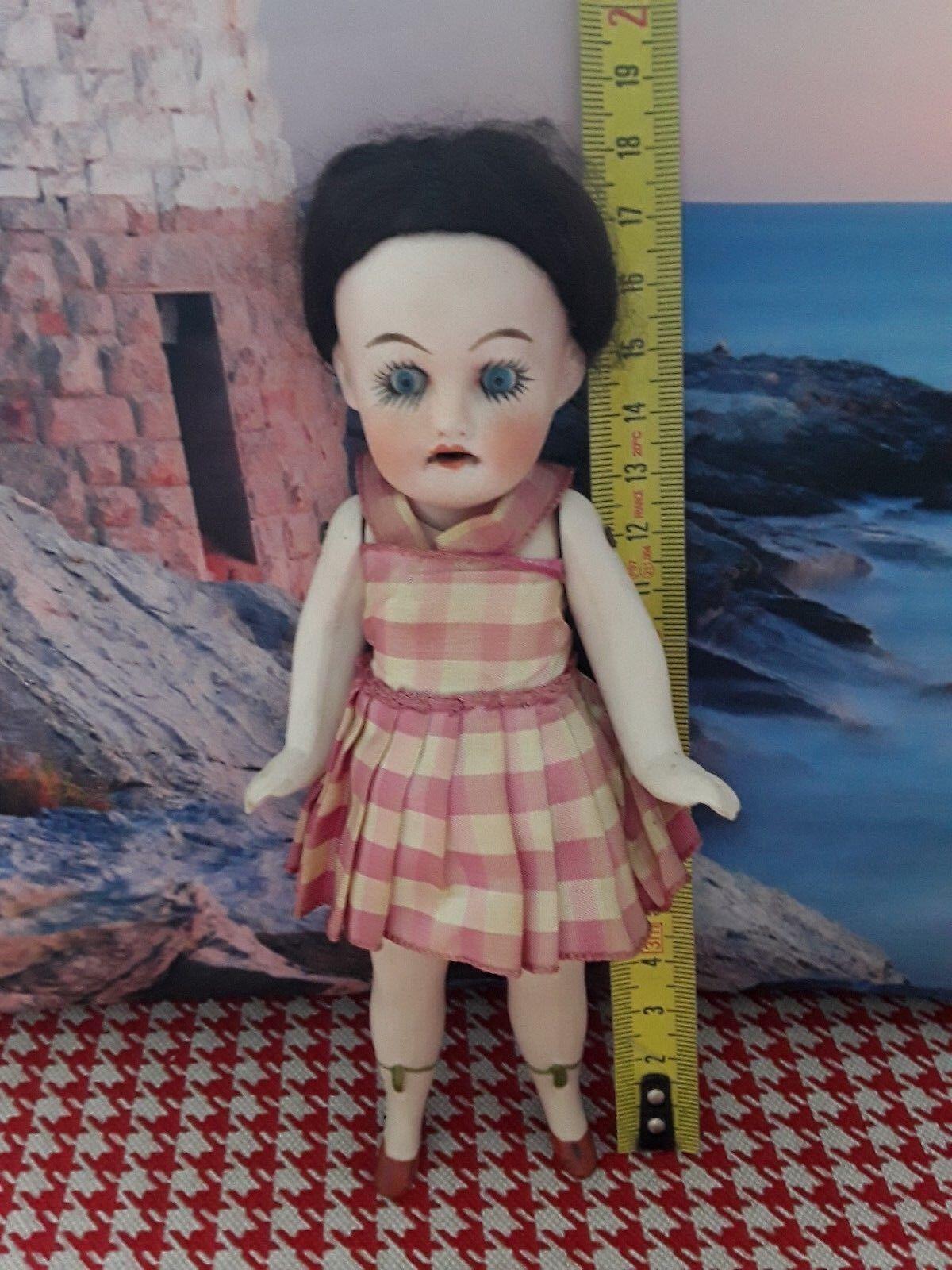 Old Doll,Ancienne poupée S / H  17cm