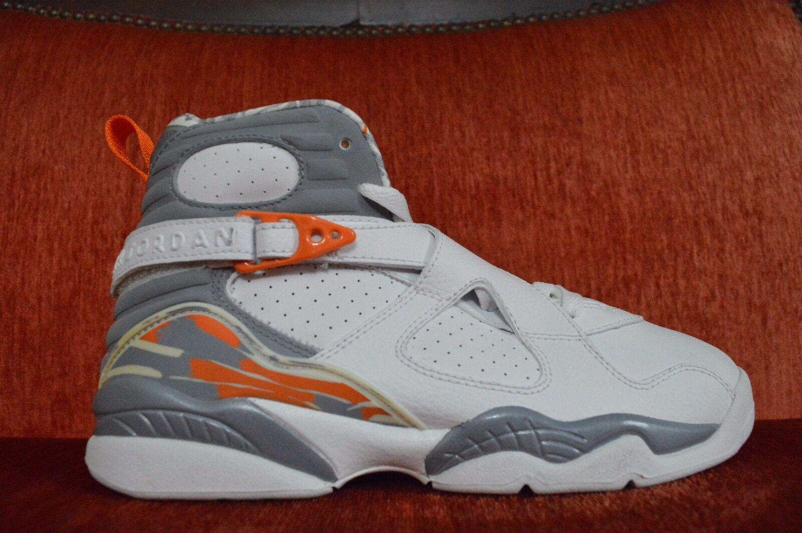 Nike Air Jordan Stealth VIII 305368 102 Size 6.5Y White Playoff Bugs Stealth