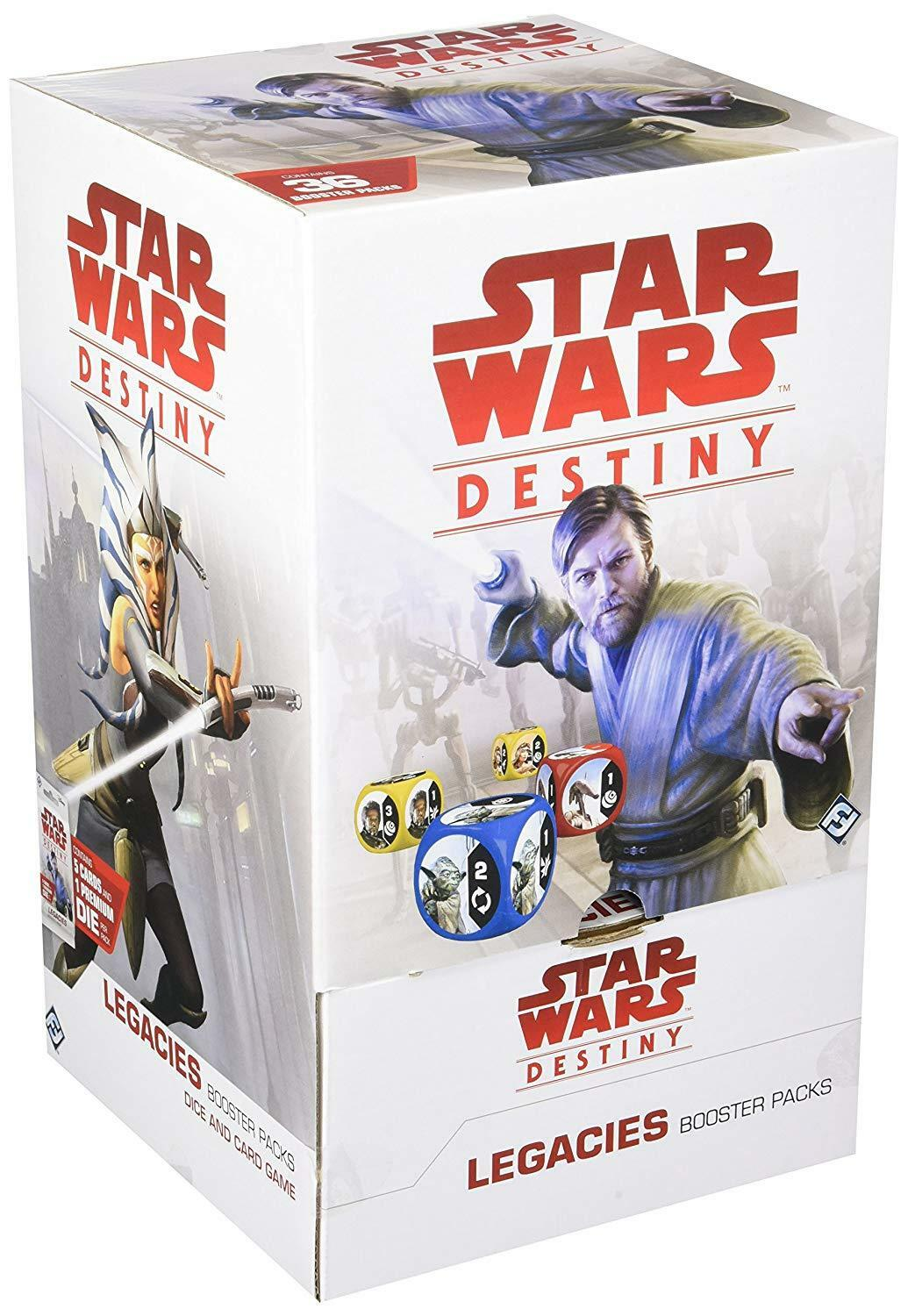 Fantasy Flight Games Star Wars Destiny Legacies Booster Display Game Set