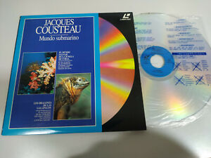 Jacques Cousteau los Draghi Galapagos La Giungla de Corallo - Laserdisc Ld