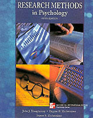 1 of 1 - Research Methods in Psychology (McGraw-Hill International Editions: Psychology S