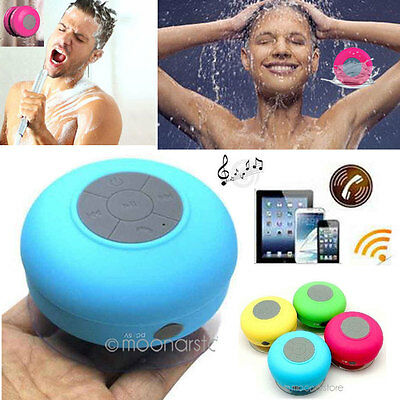 Bluetooth Wireless Speaker Mini Waterproof Suction Car Shower For iPhone SELL RK