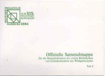 Weltpostkongress Hamburg 1984 Teil 2 Aromatischer Charakter Und Angenehmer Geschmack Intelligent Salon Der Philatelie Zum Xix