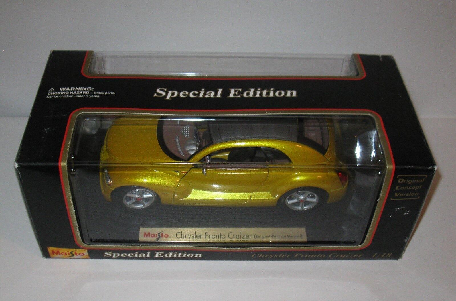 Special Edition Maisto Car Chrysler Pronto Cruizer 1 18  2000's    FREE SHIPPING