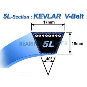 V-BELT-SIZES-5L220-5L510-MADE-WITH-KEVLAR-Lawn-amp-Garden-Belts-17mm-X-11mm