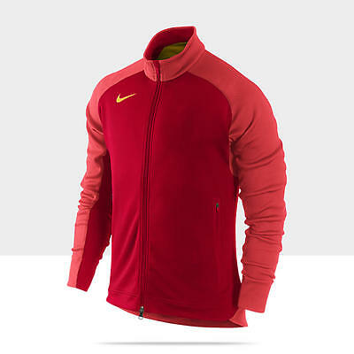 NEW NIKE N12 COUNTRY CHINA Men's Track Jacket TOP $150 M MD 466404 STAY WARM RED
