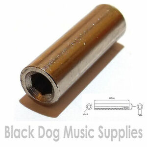 Guitar-truss-rod-nut-M6x1-0mm-thread-9mm-diameter-28-5mm-long