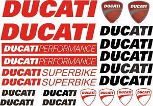 ducati motorcycles logo. image is loading ducatimotorcycledecalsstickersbikegraphicsetvinyl ducati motorcycles logo