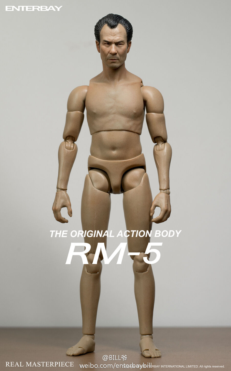 1/6 Enterbay Real Masterpiece Enter the Drag RM-5 Mr.Hun Action Figure Free Ship