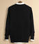 Mens-Cardigan-Cotton-Blend-Knitted-Sweater-Formal-Casual-V-Neck-Single-Breasted thumbnail 3