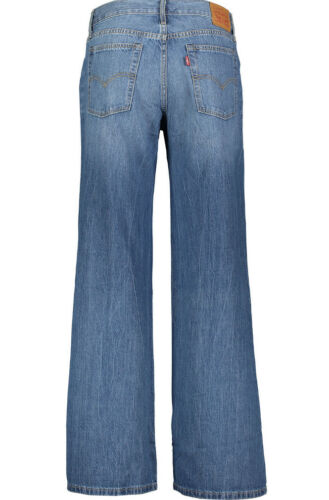 Levi's Longues Bleu Manches Jeans Large rwU7Or4q