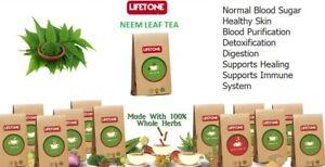 Details about Neem Leaf Herbal Tea,Rapid Weight loss,Strong Detox Tea,20  Teabags,40g