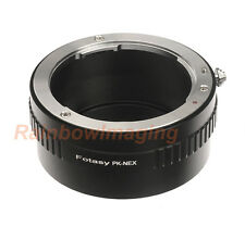 Pentax lens to Sony E-Mount a6000 a5100 a5000 a3500 a3000 Alpha A7 adapter