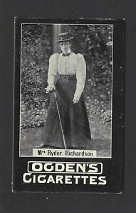 OGDENS-TABS-GENERAL-INTEREST-97-2-GOLF-MRS-RYDER-RICHARDSON