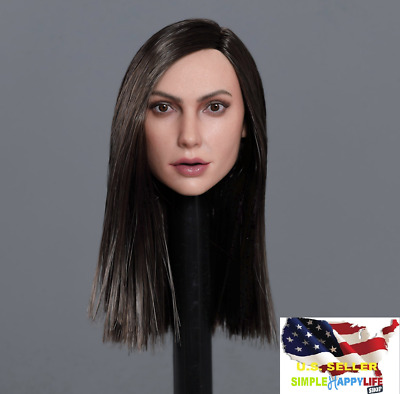 "1//6 Female Head sculpt GC031 A For 12/"" SUNTAN Phicen *IN STOCK*"