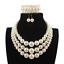 Women-Bohemian-Choker-Chunk-Crystal-Statement-Necklace-Wedding-Jewelry-Set thumbnail 161