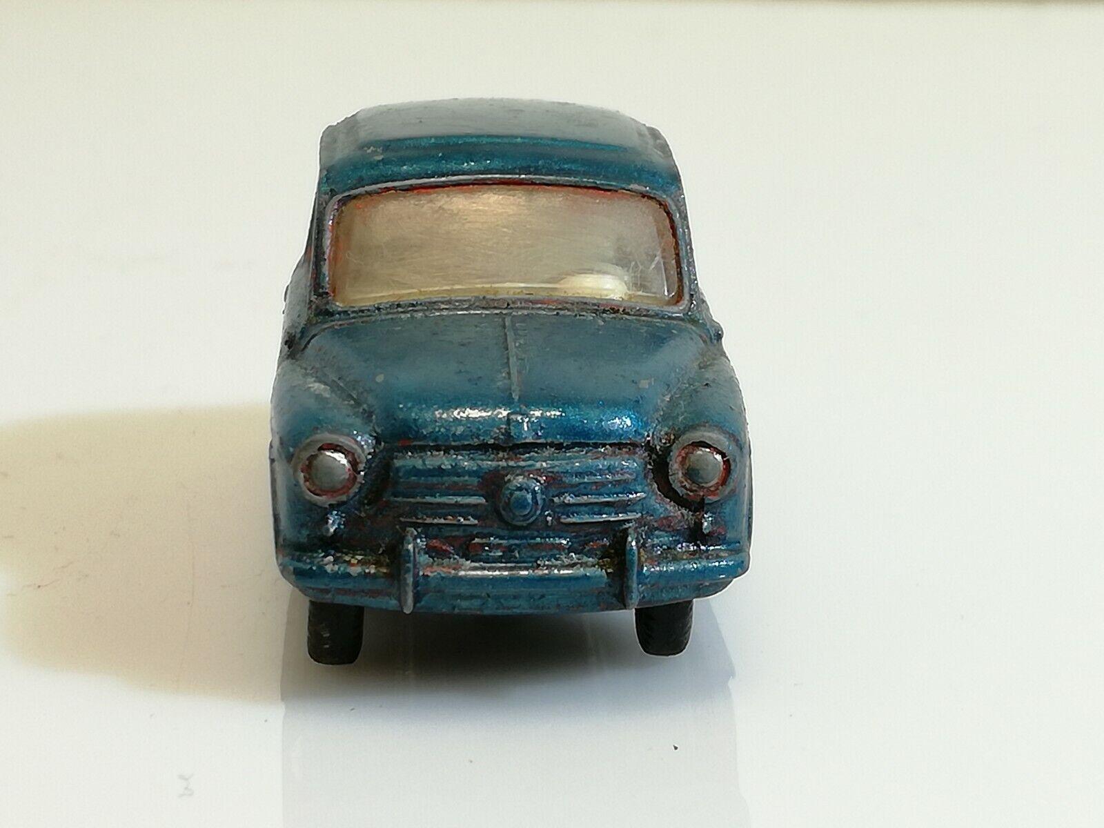 Dinky Toys 520 Made In France Fiat 600  blu Rara n  63