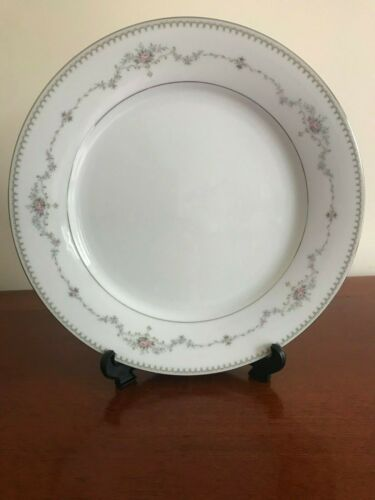 "Vintage Noritake China /""Fairmont/"" Platinum Trim 10 1//2/"" Dinner Plate"