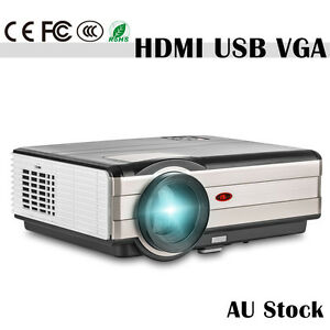 HD-LCD-LED-Home-Theater-Projector-Multimedia-1080p-Movie-Game-HDMI-USB-4000lm-AU