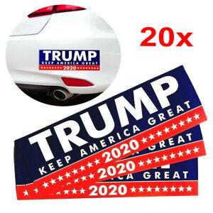 20Pcs-Donald-Trump-President-2020-KEEP-AMERICA-GREAT-Bumper-Sticker-Car-Stickers