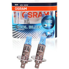 H1 OSRAM COOL BLUE INTENSE XENON LOOK H1 55W 12V DUO BOX LAMPEN DUO-Pack-Box NEW