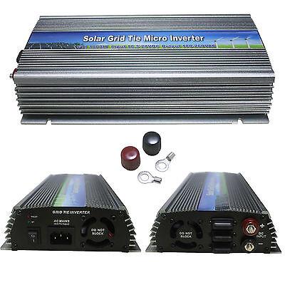 300-1000W solar grid tie inverter,10.5-28V DC,120/230 AC,pure sine wave ,mppt