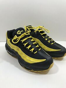 Details about Nike Air Max 95 Frequency Pack Yellow White Black Running Mens AV7939 001 Sz 10