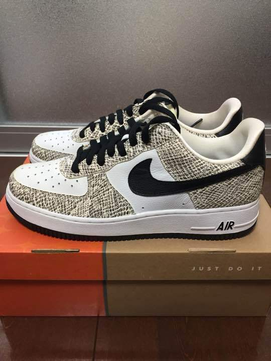 NIKE Air Force Snake 1 28cm White Snake Force Snake Pattern from japan (2829 9a29b4