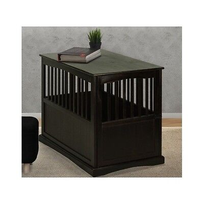 Large Dog Kennel Pet Bed Crate Oversized Wood Crated Cage Puppy Indoor Furniture