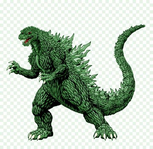 "6/"" Vinyl Decal Stickers Godzilla  2/"""