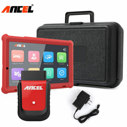 Automotive OBDII WiFi Diagnostic Tools Full Systems Scanner ABS Airbag Oil Reset