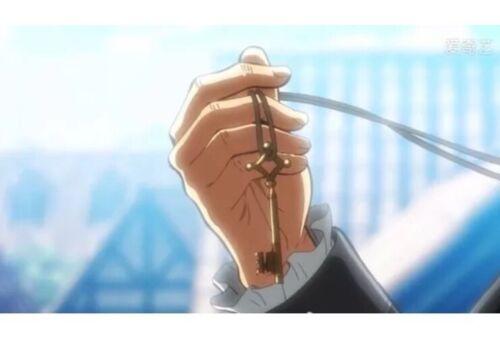 Attack On Titan Shingeki No Kyojin Anime Key Necklace Silver US Seller