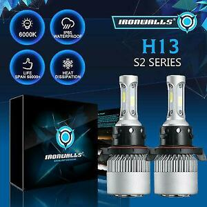 H13-9008-LED-Headlight-bulbs-Hi-Lo-Beam-1700W-6500K-For-Ford-F-150-F-250-F-350