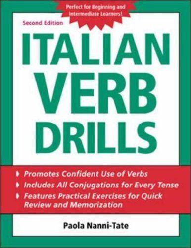Italian Verb Drills (BGR12) By Paola Nanni-Tate. 9780071420891