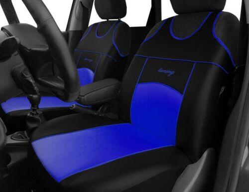 2 Eco Cuero Fundas de los asientos delanteros para Opel Astra
