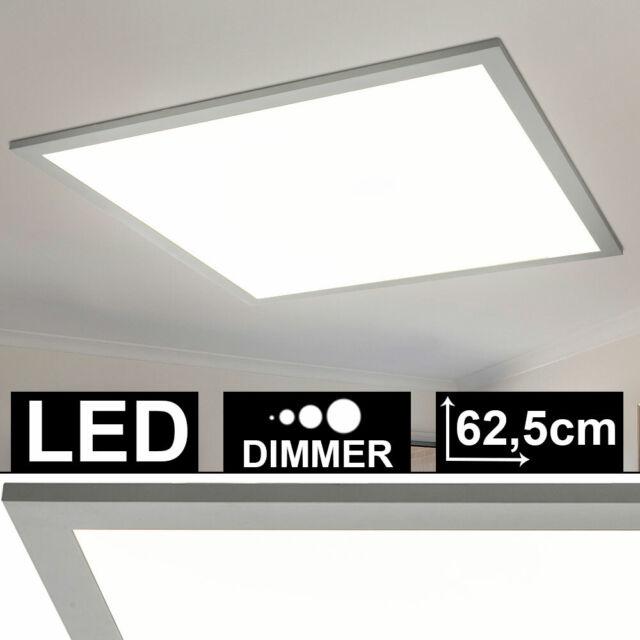 LED Decken Lampe Glas Kristall Arbeits Zimmer Strahler Büro Leuchte DIMMBAR