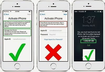iCloud Removal Service iPhone iPad all models (10 min-72 hours)