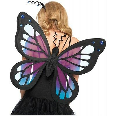 Butterfly Fairy Wings Costume Accessory Adult Teen Womens Pixie Halloween