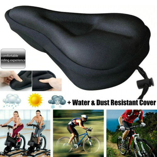 Bike Comfort Soft Gel Pad Comfy Cushion Saddle Seat Cover Gel Bicycles Cycles