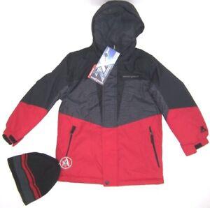 5fab01381 Image is loading ZeroXposur-Boys-Snowboarding-Jacket-NWT-Size-4-5-