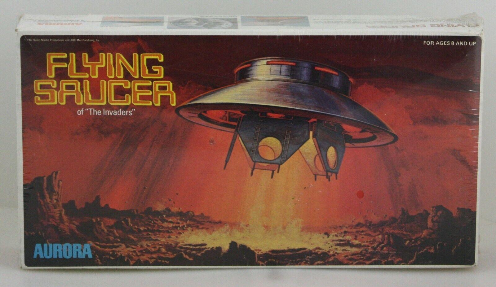 Aurora - invasor TV Series series series series series de discos volantes