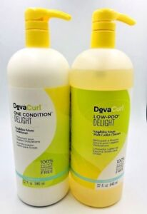 Deva-Curl-DevaCurl-DELIGHT-Low-Poo-Cleanser-32oz-amp-One-Condition-32oz-LITER-DUO